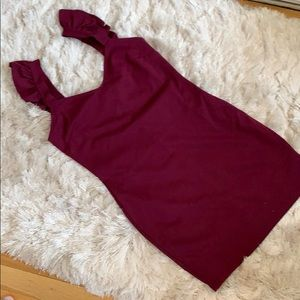 NWOT - KimChi Blue - Minidress with Ruffle straps